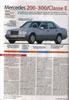 Automobile magazine analyse de la w124